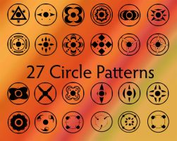 Circle Design Brushes by 1337-1stock