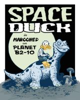 Space Duck by jerrycarr