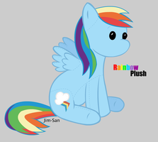 Rainbow Plush by Jim-San