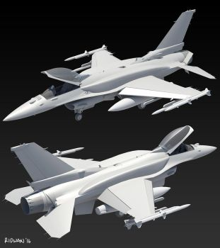 F-16E 01 by MeganeRid