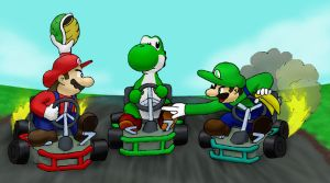 Mario Kart by F1fth