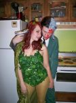 Two-Face and Poison Ivy again by TheMuteSiryn