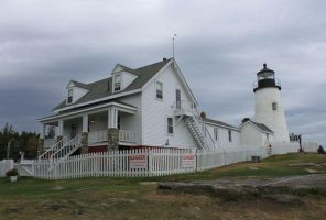 Pemaquid Point Lighthouse by bydandphotography