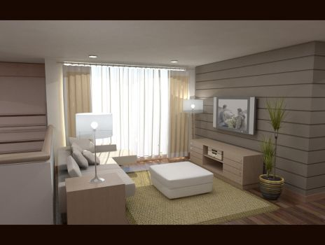 Family Area- View 2 by dotesign