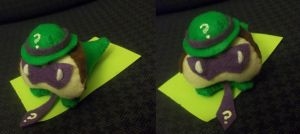 Marshmallow Riddler by PlushieFearless