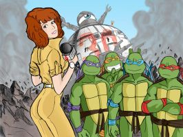 TMNT 30th Anniversary by DarkManSunrise