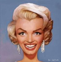 Yet another Marilyn Monroe by jantheempress