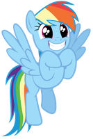 Rainbow Dash is excited by Tardifice