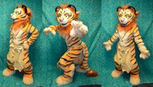 Akantenshu the Liger - clothes by temperance
