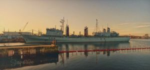 HMCS Preserver In Halifax by ShawnaMac
