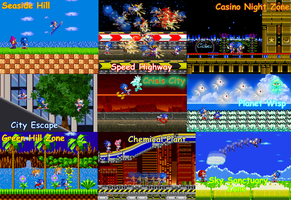 sonic generations tribute by DMG1874