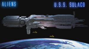 U.S.S. Sulaco version 2 by Gustvoc