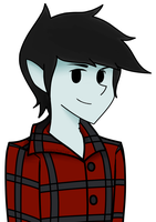 Marshall Lee (colored) by RunningFromTime