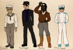 TUGS human cast 3 by exdraghunt