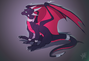 Depth (Cynder the dragon) by Epic-Starzz