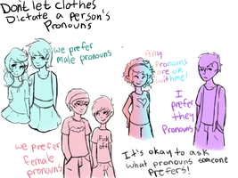 Clothes Don't Have A Gender by SecretMonsters