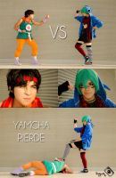 Yamcha vs Kawaii boy by InguzXparking