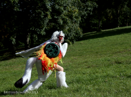 Amaterasu - Charging In by BritishBumpkins