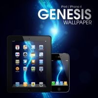 Genesis iPad, iPhone 4 Wallpaper by Martz90