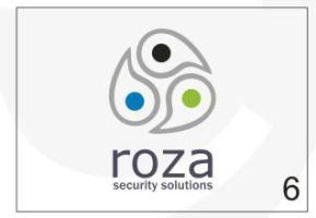 Roza Security Logo 6 by HalitYesil