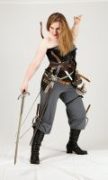 Weapons Wench 6 by kirilee