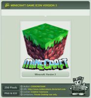 Minecraft Icon v3 by CODEONETEAM