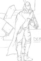 A Destiny Character Sketch by sudorlais