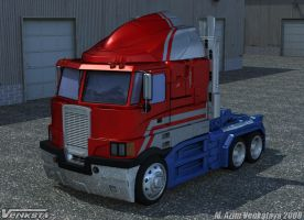 Optimus Prime HD Truck Mode by Venksta