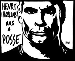 Henry Rollins Has A Posse by MallonIllustration