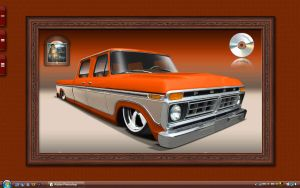 Orange Ford by TechII