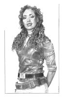Zoe - Warrior Woman by RichardBurgess