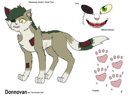 New OC: Donnovan (The Voodoo Doll) by InsaneCuteKitty