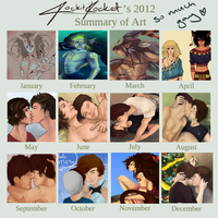 2012 - Art Summary by Laurir