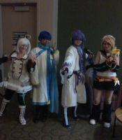 A 'n G Con-The Vocaloid's are in Town! by Maria65
