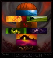 Hopscotch - Collab with Roytje by Deino