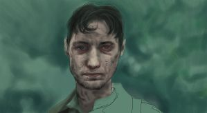 atonement james mcavoy study by LiftYourSkinnyFists