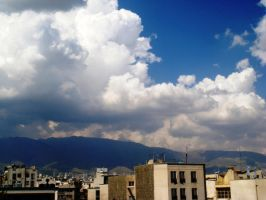 tehran in the morning by Morvarid26
