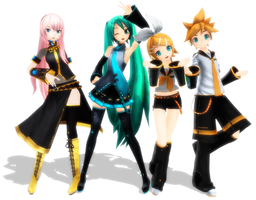 i love project diva models by mikuhime
