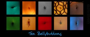 Ten Bellybuttons - Coffee Mug by UniqueNudes