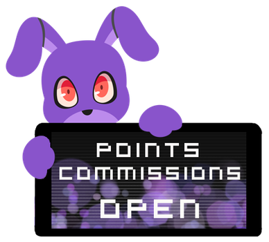 Bonnie Point Commission Open Stamp by Ink-cartoon