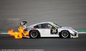 Porsche on Fire by GTMQ8