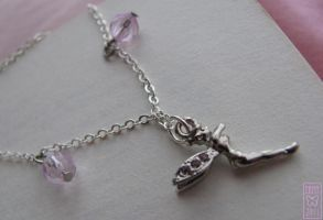 Tinkerbell necklace by Ermy