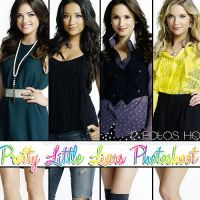 Pretty Little Liars Photoshoot 2 by FlawlessSmile13