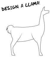 DESIGN A LLAMA by Coffee-Brown