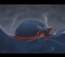 Kyogre by Kydeka