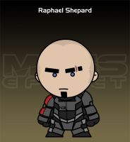 Mass Effect - Raphael Shepard by criz