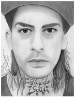 Mike Fuentes from Pierce The Veil by BandaforLove