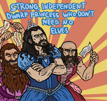 Hobbit: Thorin's Self-Discovery by sparkyHERO
