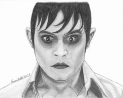 Johnny Depp as Barnabas Collins by ewalter