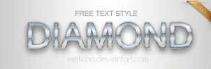 Diamond Text Style by Welton-Arruda